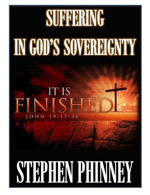 Suffering In God's Sovereignty (E-Booklet)