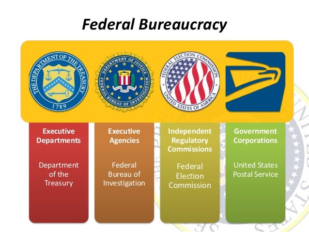 the relationship between the executive branch and the bureaucracy in america Bureaucracies take on functions that would waste the time and effort of elected  and unelected leaders  congress the first congress began the foundations of  the executive branch by reestablishing  managing relations with foreign  nations.