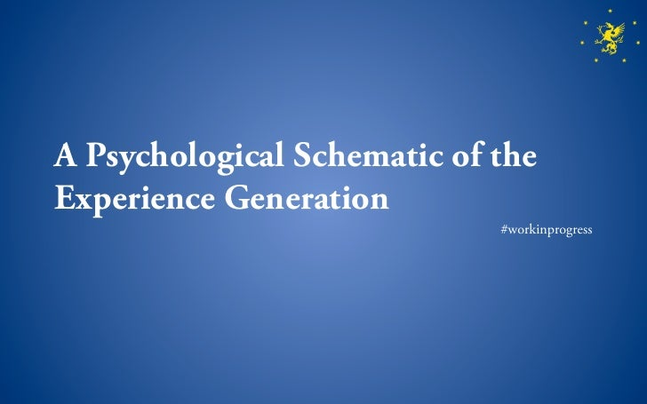 The Experience Generation