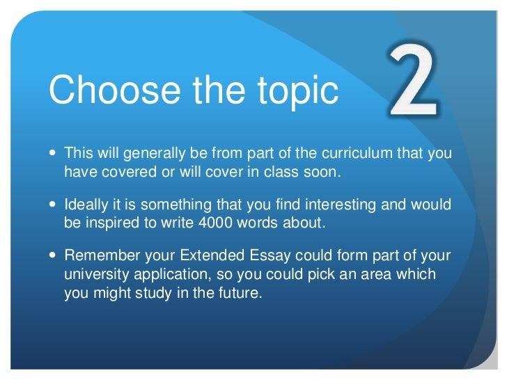 deutsch extended essay themen