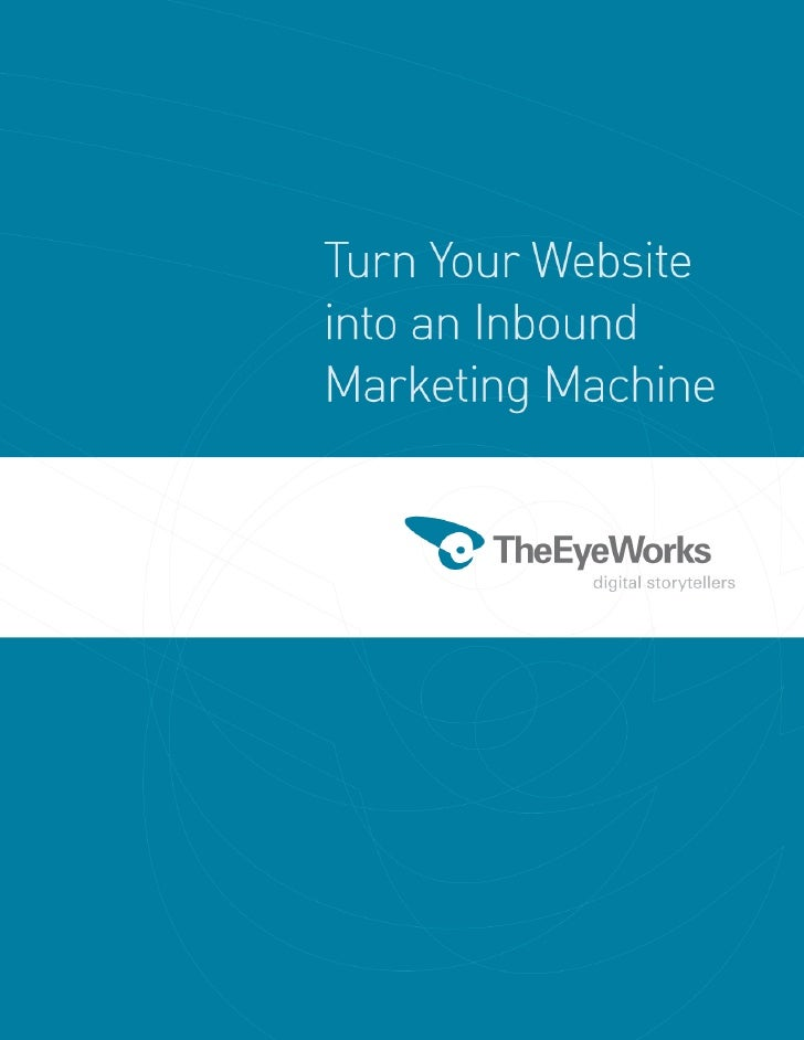 TheEyeWorks Inbound Marketing Whitepaper