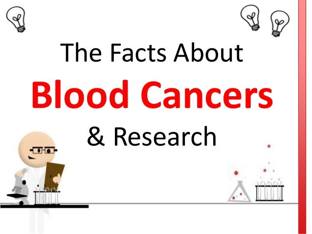 The facts about blood cancers & research