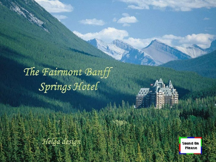"""The Fairmont Banff Springs in Canada is one of the world's most majestic and grand hotel. The hotel is style after a Scot..."