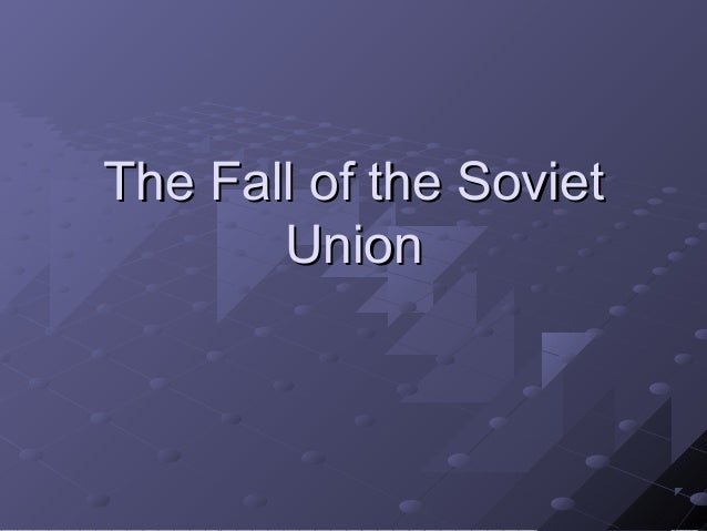 Political changes in europe since the fall of the soviet union in 1989?