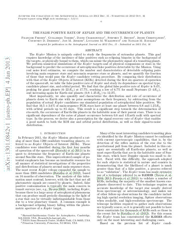 Accepted for publication in the Astrophysical Journal on 2012 Dec, 15 - Submitted on 2012 Oct, 16                         ...