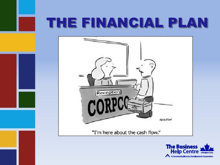 THE FINANCIAL PLAN<br />