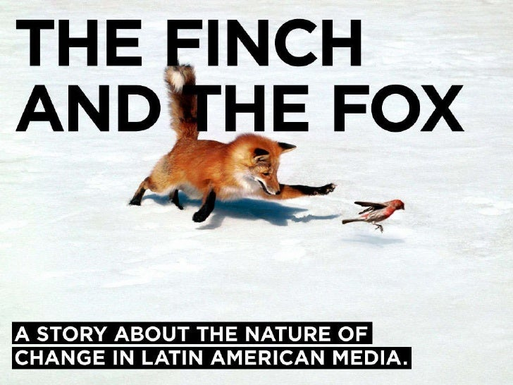 The Finch And The Fox - Mexican version