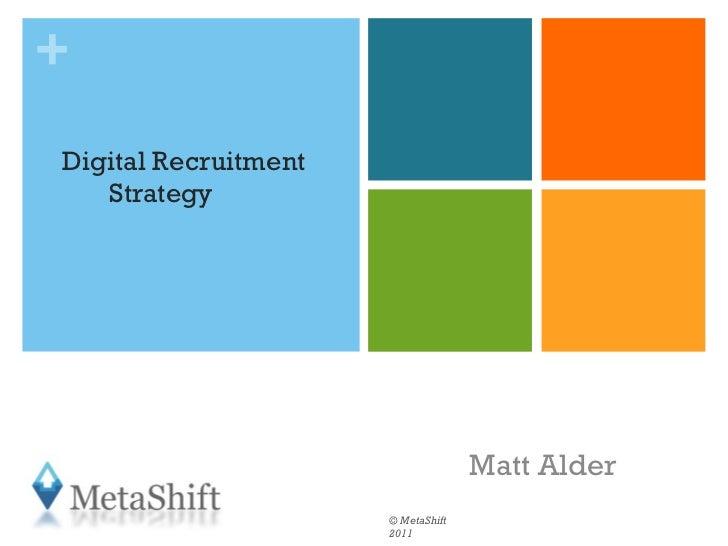 Auditing and Optimising your Social Media Strategy_matt_alder[1]