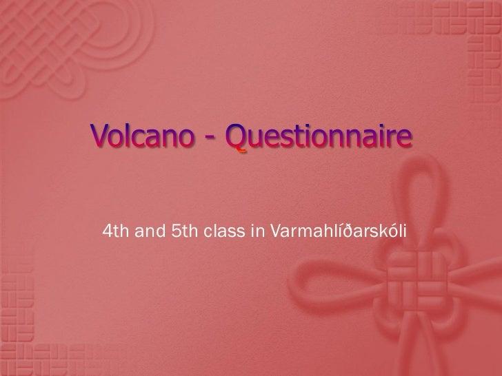 4th and 5th class in Varmahlíðarskóli