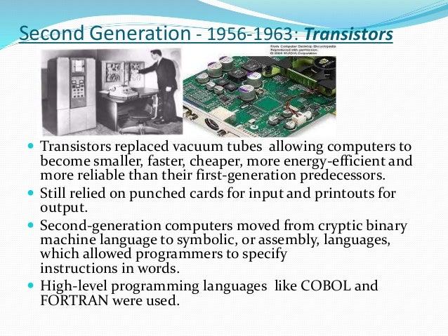 Интегральные схемы второго поколения