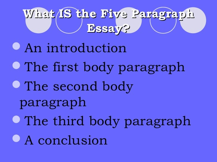 how to write a 5 paragraph essay for kids
