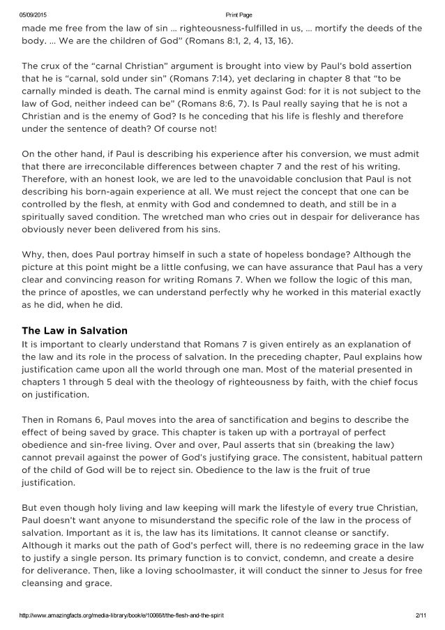 """an analysis of romans 81 3 on the subject of condemnation 3 """"i'm a constant disappointment to god"""" not true can't be true if romans 8:1 is  true  i recommend that you write out romans 8:1, stick it where you can see it,  and  i don't believe that romans 7 is the full explanation for paul's  that verse  should be understood as the topic verse for all of romans 8."""