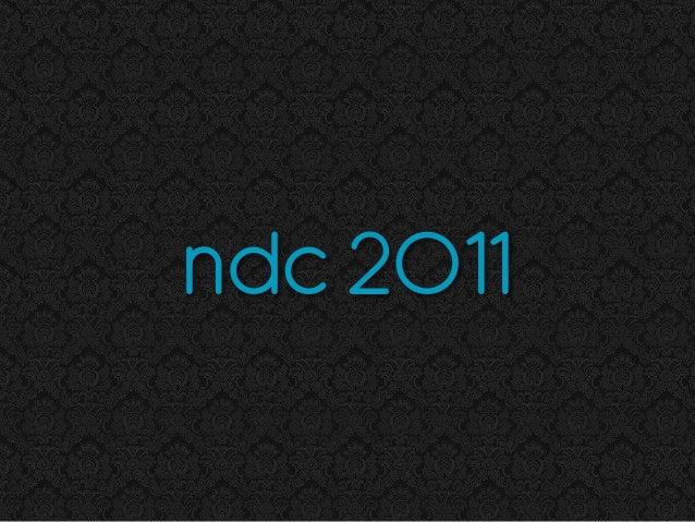 ndc 2011