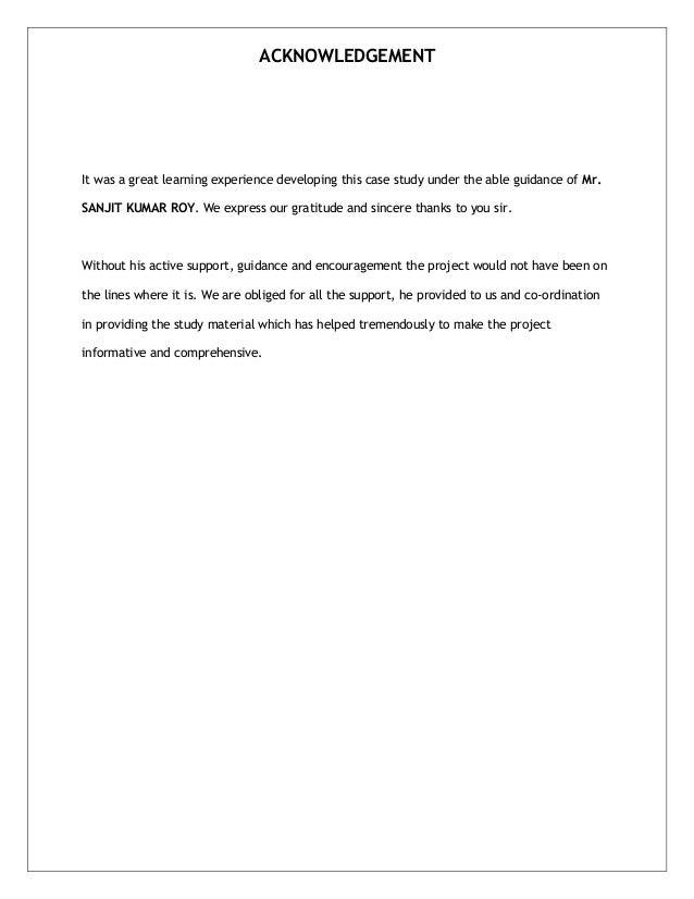 It case study examples
