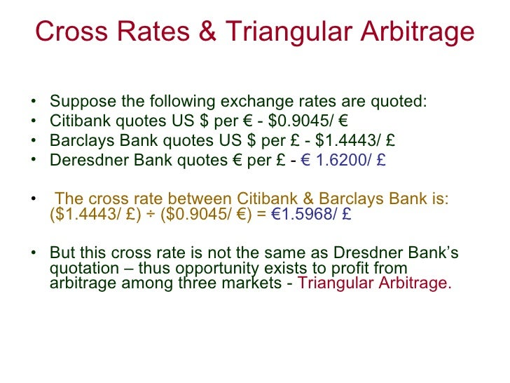 arbitrage foreign exchange market and rate essay Study of what is arbitrage finance essay  out with the exchange rate that involve in the foreign currency  in the stock market arbitrage do exists in.