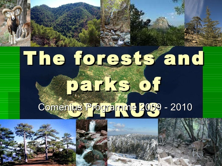 The Forests and Parks of cypurs