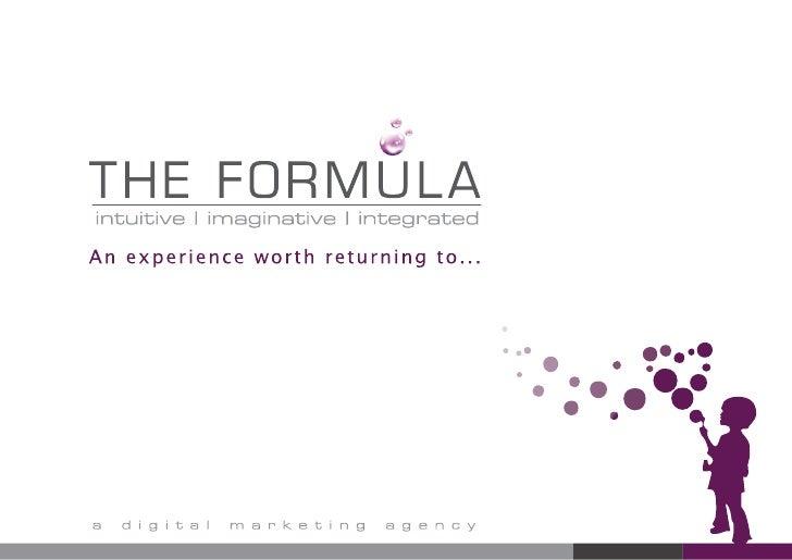 The Formula Portfolio