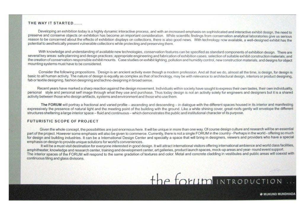 The Forum - Architecture Thesis