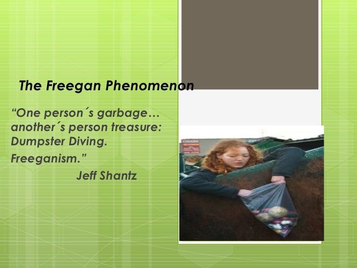 The freegan phenomenon(1)