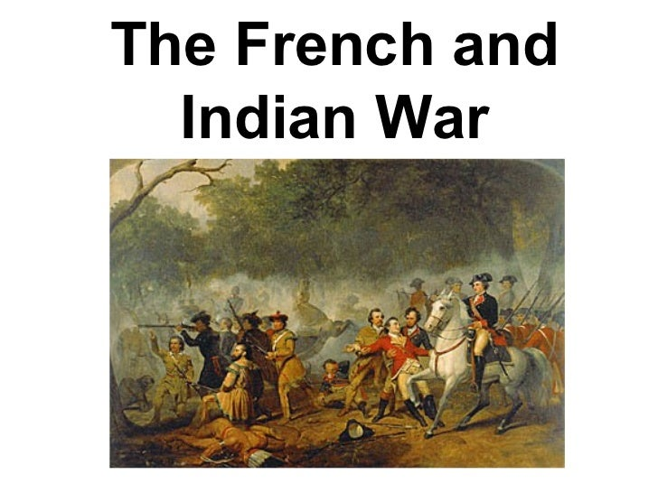 French and indian war-essay question..?