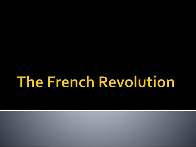 The French government was an absolute monarchy. France was divided into three classes, called Estates.