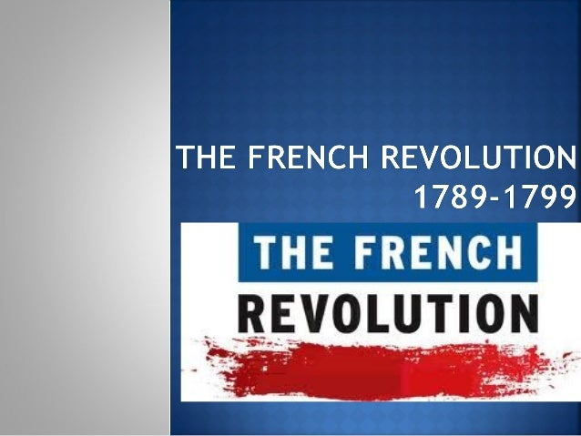 The french revolution2