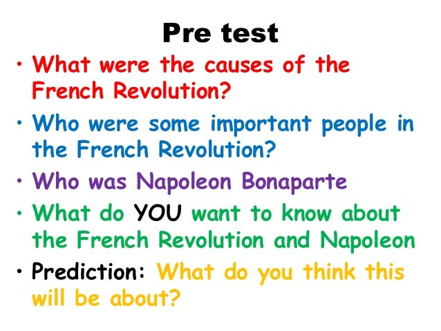 What to write about the French Revolution?
