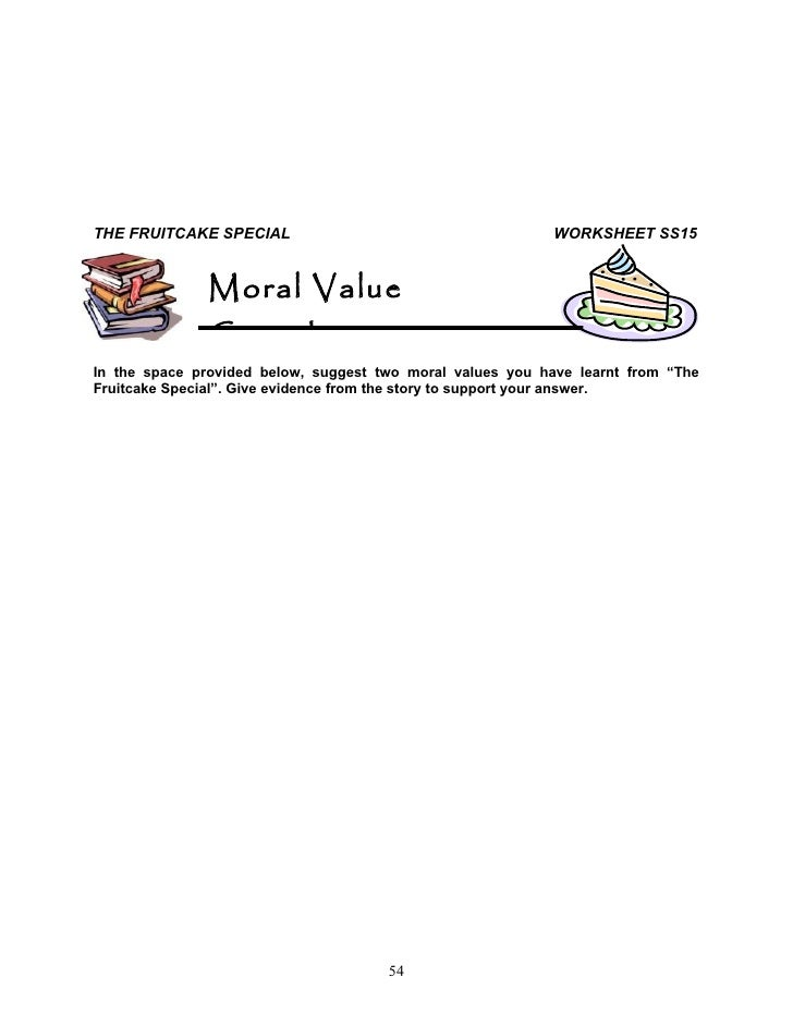 Write my essay on moral values in school