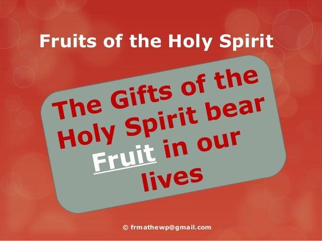 fruits of the holy spirit fruit cake