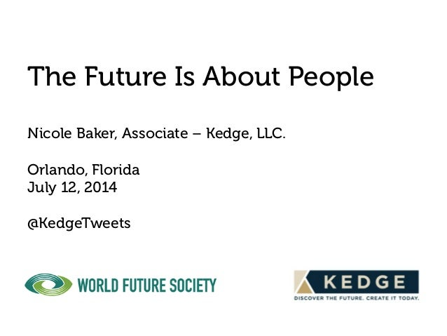 The Future Is About People