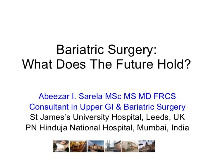 The future of bariatric surgery