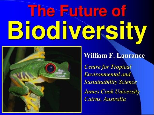 The future of biodiversity abbreviated