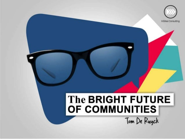 The evolution of Communities