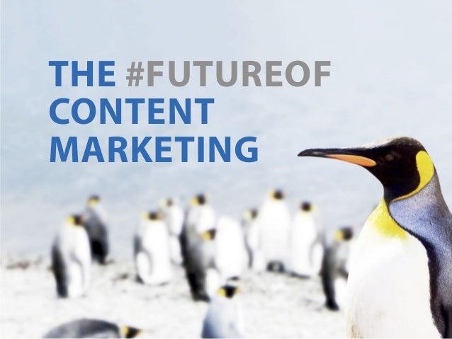 the #futureof content marketing