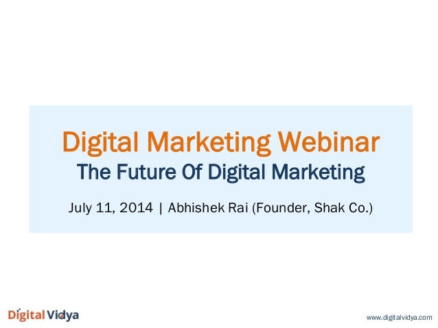 The Future Of Digital Marketing: Brand Communities