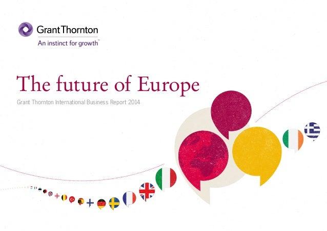 The future of Europe (IBR 2014)