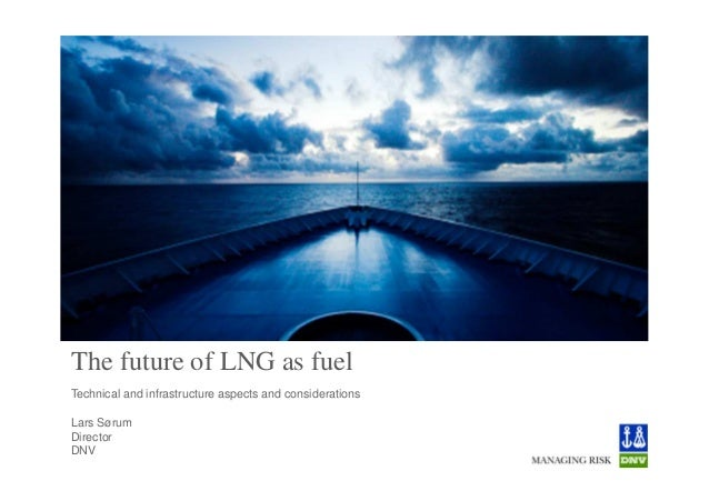 The future of LNG as fuelTechnical and infrastructure aspects and considerationsLars SørumDirectorDNV