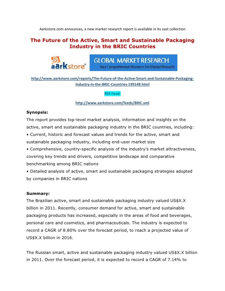 Aarkstore.com announces, a new market research report is available in its vast collection The Future of the Active, Smart ...