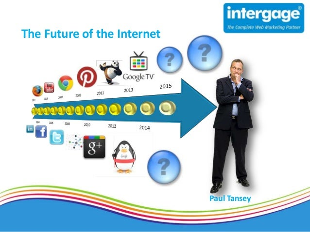 """The future of the Internet 2  -  Evolution to the """"Internet of things"""""""