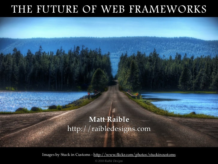 The Future Of Web Frameworks