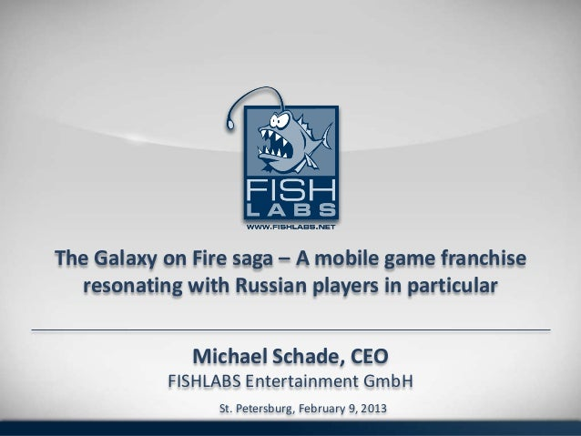 The Galaxy on Fire Saga - A Mobile Game Franchise Resonating with Russian Players in Particular
