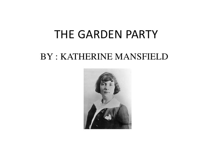 The Garden Party Critical Essays