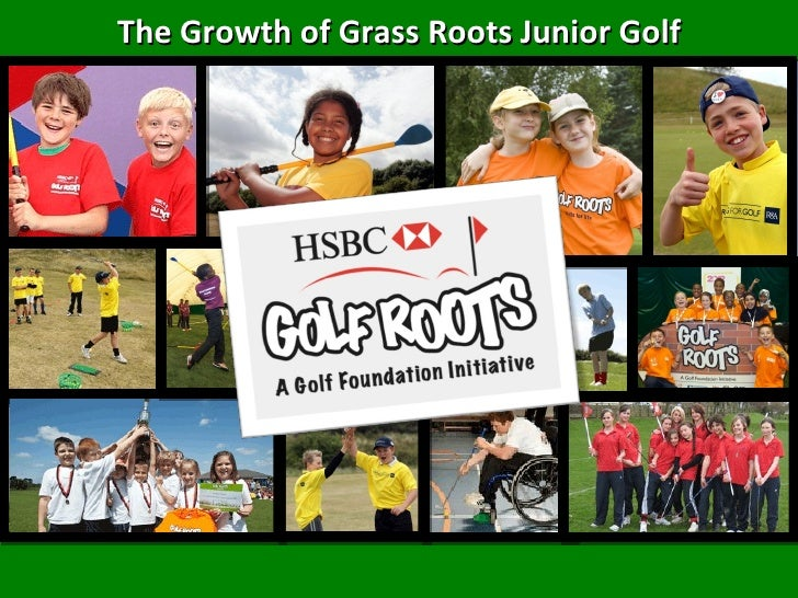 The Growth of Grass Roots Junior Golf