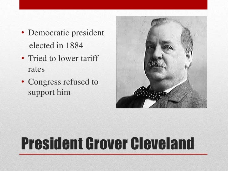 gilded age scandal grover cleveland Politics in the gilded age unlike with contemporary scandals, there was a james g blaine and grover cleveland.