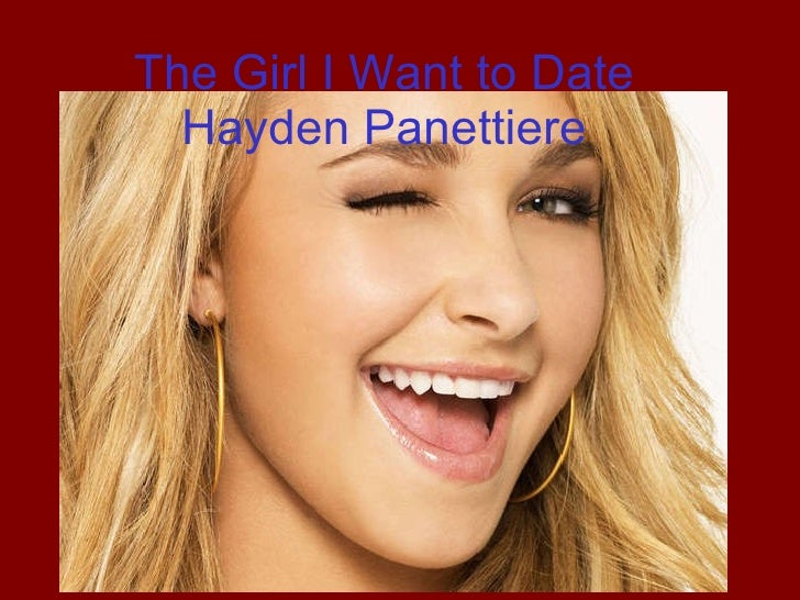 The Girl I Want To Date