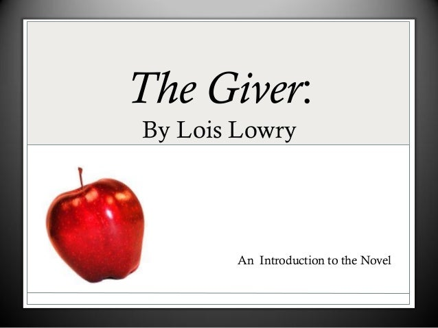 Essay About the Giver 'Sameness' - Homework Help