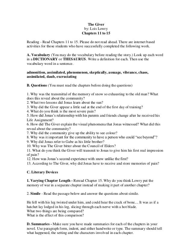 Sample comparative literature essay