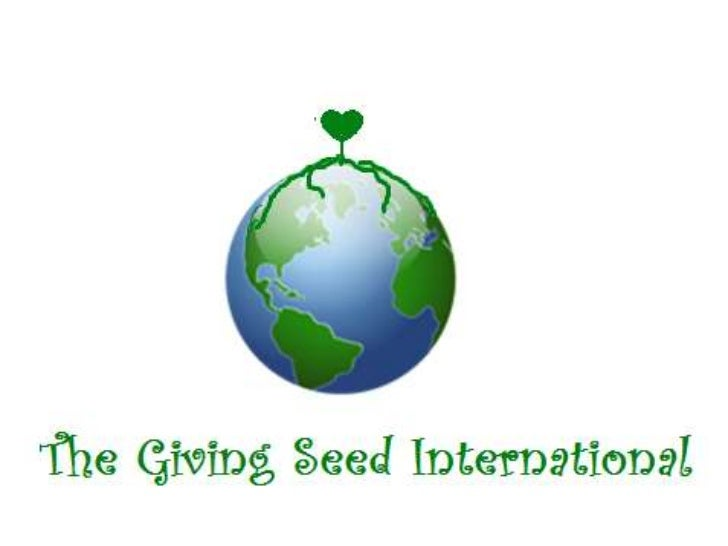 The giving seed international