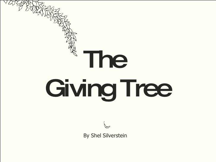 The giving tree скачать книгу