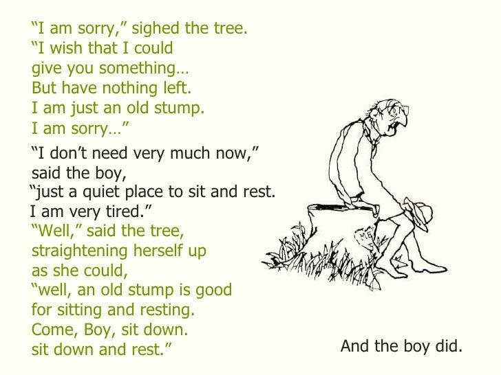 tree shel the giving tree shel silverstein i n k trees the o jays ... The Giving Tree And The Tree Was Happy